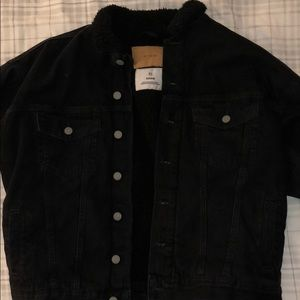 denim button up jacket